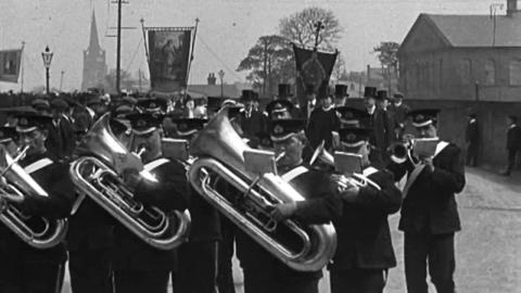 Whitsuntide Processions at Clitheroe (1913)