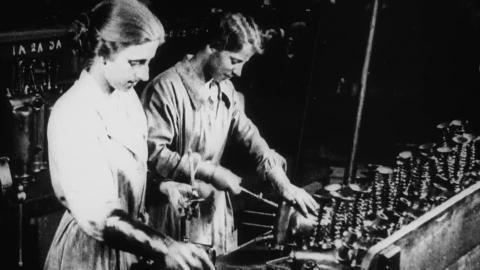 Women's Munition Work