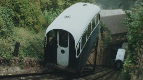 Cliff Railway at Bridgnorth