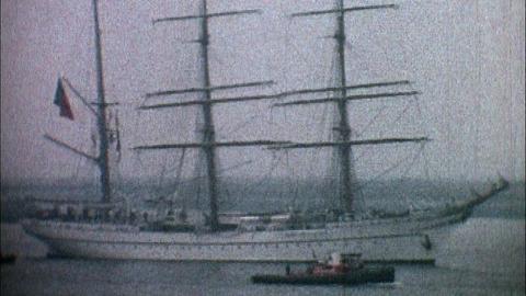 Tall Ships at Erith