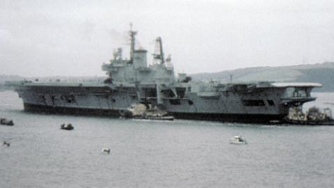 Farewell HMS Ark Royal
