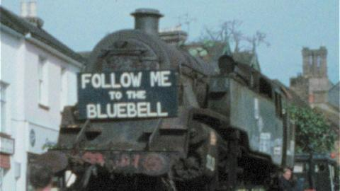 Bluebell Railway through the years