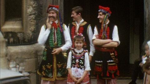 Polish Costume Dancing