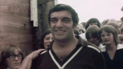 Frankie Vaughan visits Bideford