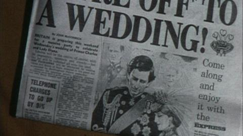 Princess Di Wedding and Winter Snow