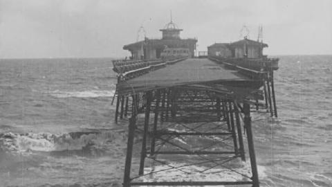 Skegness Pier Badly Damaged