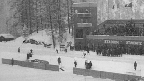 XIVth Olympiad  - The Olympic Games at St Moritz