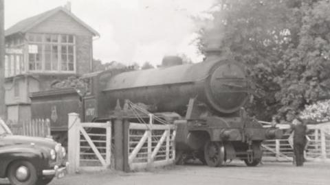 Camwell Personal Film No. 28: Sls City of Truro Swindon Works Special