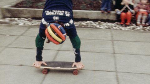 Skateboarding Demonstration