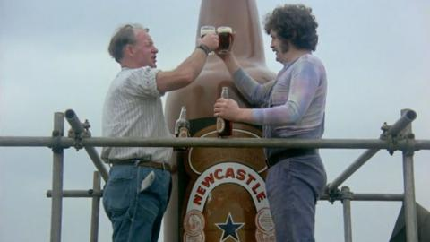 Newcastle Brown Ale Monument