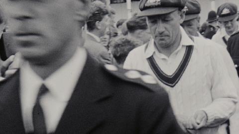 Cricket scenes with Don Bradman II
