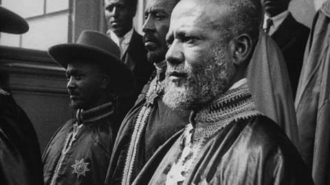 Regent of Abyssinia in London