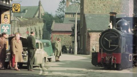 Camwell Personal Film No. 62: Welshpool Raven Square Railway