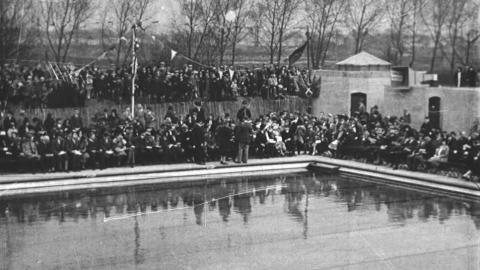 The Opening of Barking Swimming Pool