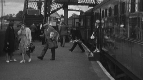 Wrexham Central to Ellesmere Line 1962