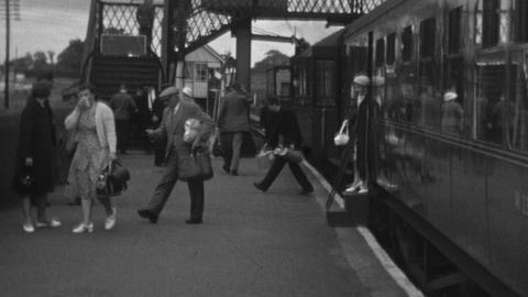 Wrexham Central to Ellesmere Line 1962