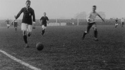 International Association Match. England v. Wales. Played at Wrexham, March 11th, 1912