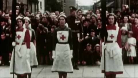 Dedication of Colours by the Lord Bishop of down and Dromore , June 22nd 1952