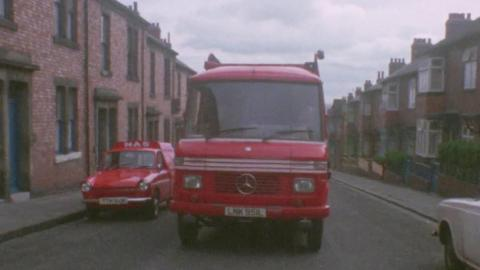 The Big Red Van