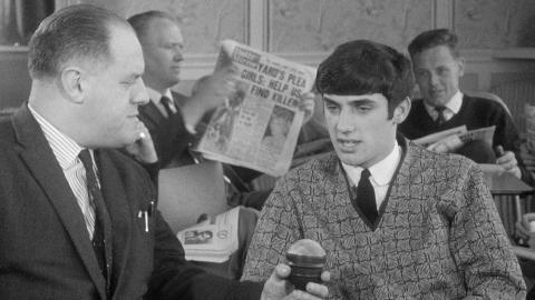 George Best at 17