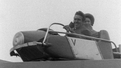 Princess Margaret and Lord Snowden visit the Westcountry