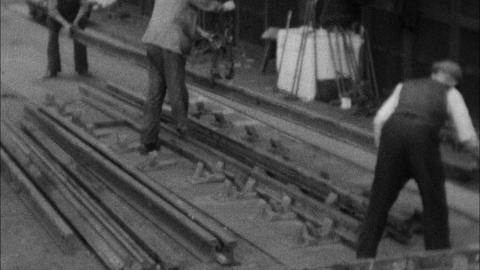 LNER Manufacture of Switches and Crossings