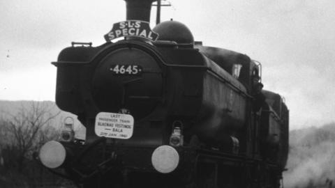 The Last Train to Blaenau 22.1.61