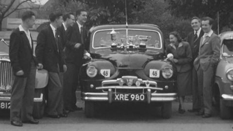 Bass: Nuneaton Motor Club Rally