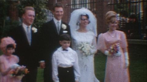 Watts Family Films: Daisy And Graham's Wedding, Balham and Streatham (1966)