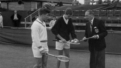 Tennis Player and Referee Alan Mills