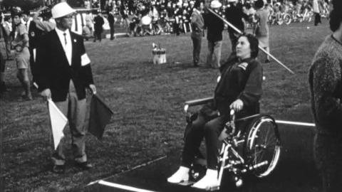 1964 International Stoke Mandeville Games in Tokyo, 8th-12th November