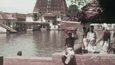 Street Scenes in India: Colonel Alexander Personal Film 1