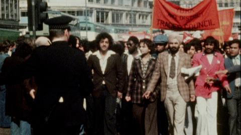 Anti National Front Demonstrations Bradford