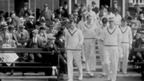 Notts V. Derby, 1934