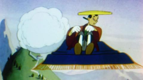 Aladdin and the Junior Genie