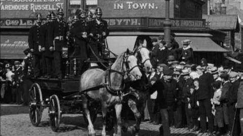 Procession of Firemen, Nelson (c.1902)