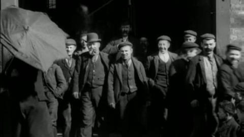 Workforce at Hornsby and Sons of Grantham (1900)
