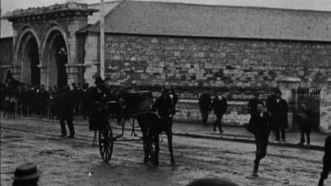 Cork Fire Brigade Turning Out (1902)
