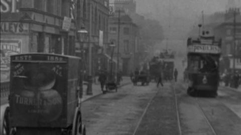 Tram Rides through Nottingham (1902)