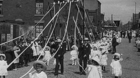 St. Joseph's Catholic Whit Procession, Blackburn (1911)