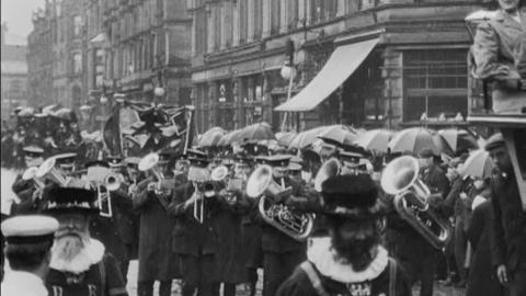 Royal Halifax Infirmary Annual Street Procession (1908)