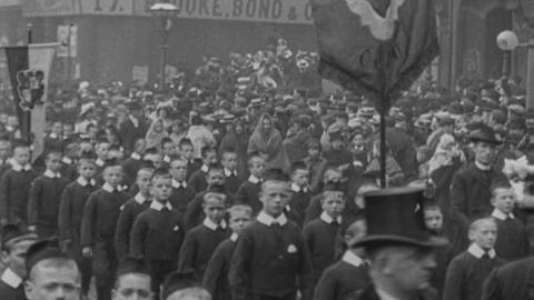 Manchester Catholic Orphanage Boys (1901)