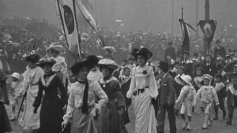 Manchester Catholics Whitsuntide Procession (1904)