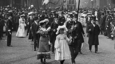 Manchester Sunday Schools Whit Monday Procession (1904)