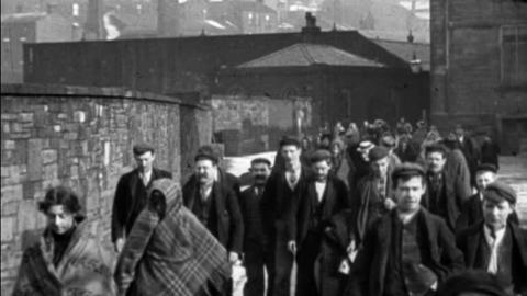 Workers Leaving Haslam's Ltd., Colne (1900)