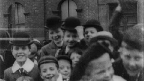 Scenes Outside St Elphin's Church, Warrington (c.1901)