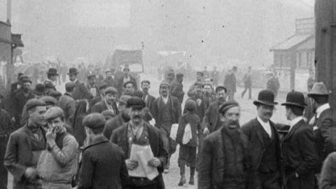 Scene Outside a Factory (c.1902)