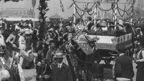 Southport Carnival and Trades Procession (1902)