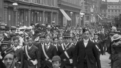 Church Parade of the Boys' Brigade in Birmingham (1902)