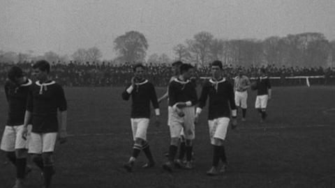 Wales v Ireland at Wrexham (1906)